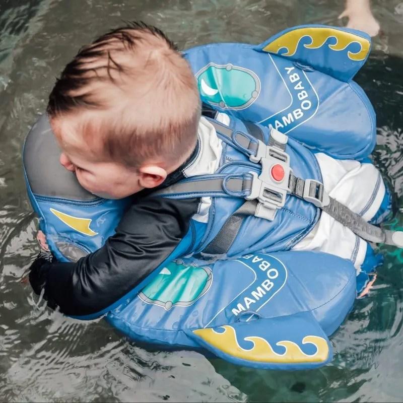 Spaceship Mambobaby Swim Ring Float
