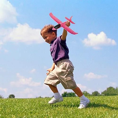 Foam Throwing Airplane Toys 4 Pack