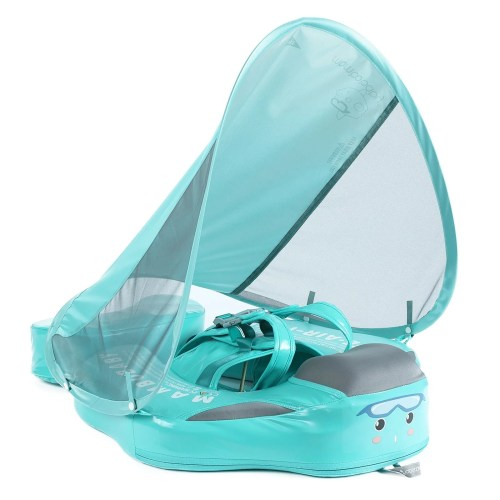 New Mambobaby float Green with canopy and tail model