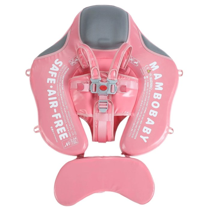 New Mambobaby float Pink with canopy and tail
