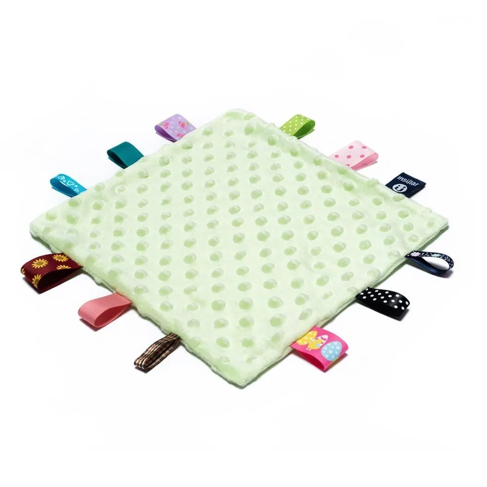 security tag blanket green