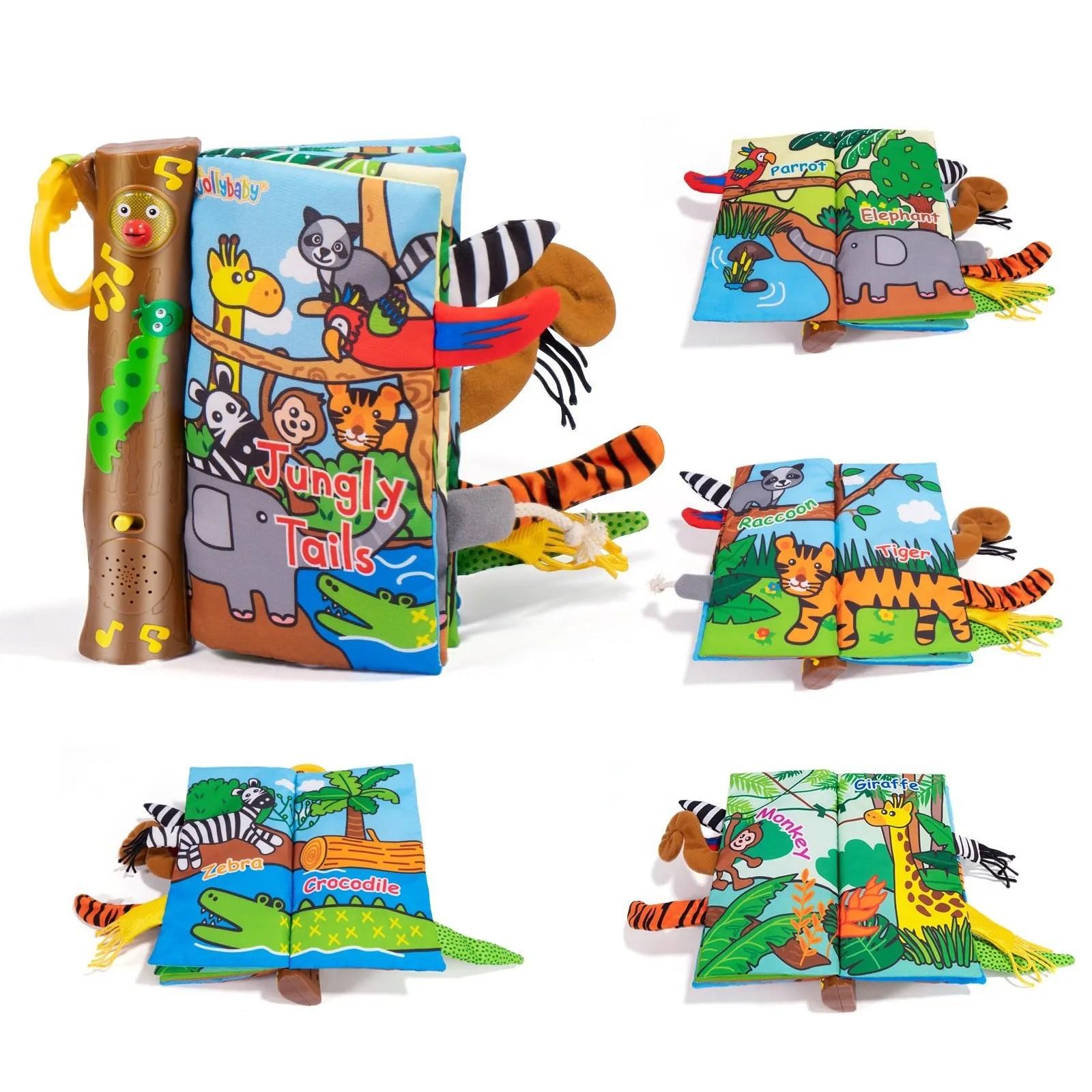 Musical Jungle tails soft book