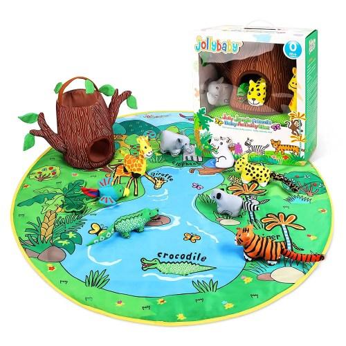 Baby Play Mat Set(Jungle)