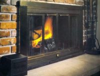 FIREPLACE BLOWER: FIREPLACE HEATER WITH BLOWER UNIT