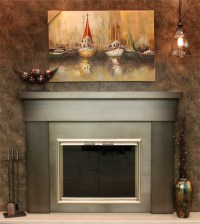 Steel Surround Mantels | Hechlers Mainstreet Hearth ...