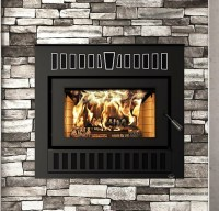 Valcourt FP14 Cartier Wood Fireplace