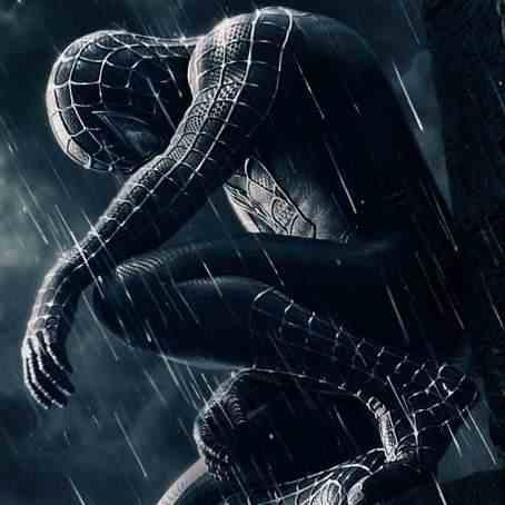 Spiderman triste por no haber sido invitado a la fiesta