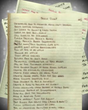 Master Task List
