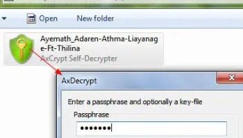 CTI Encryption: Portable Text Encryption tool for Windows