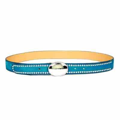 ceinture pour femme gorfou turquoise