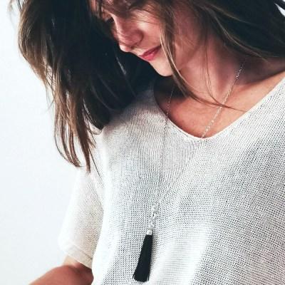 collier pour femme fauvette porté
