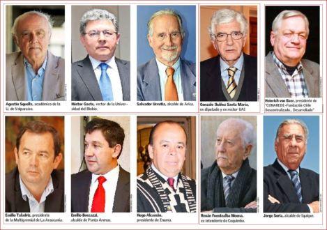 15 lideres regionales