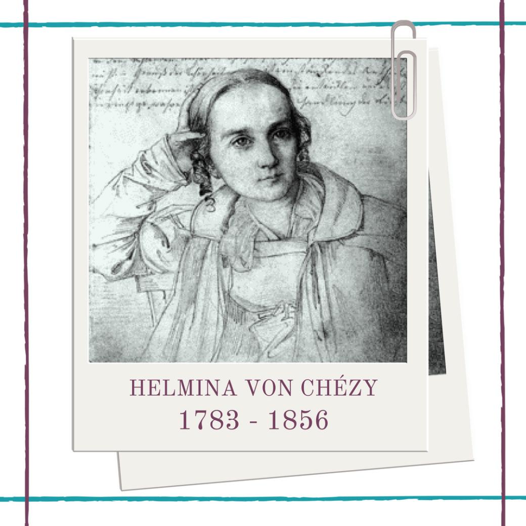 German woman playwright Helmina Von Chézy biography at Hedda House.