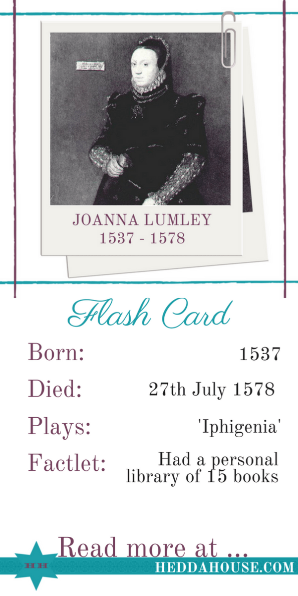 What do Absolutely Fabulous and Ancient Greek Theatre have in common? Read the MicroBiog of Joanna Lumley at Hedda House to find out.