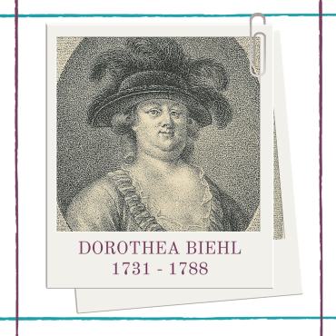 Biography of eighteenth century Danish female playwright, Dorothea Biehl by Hedda House.