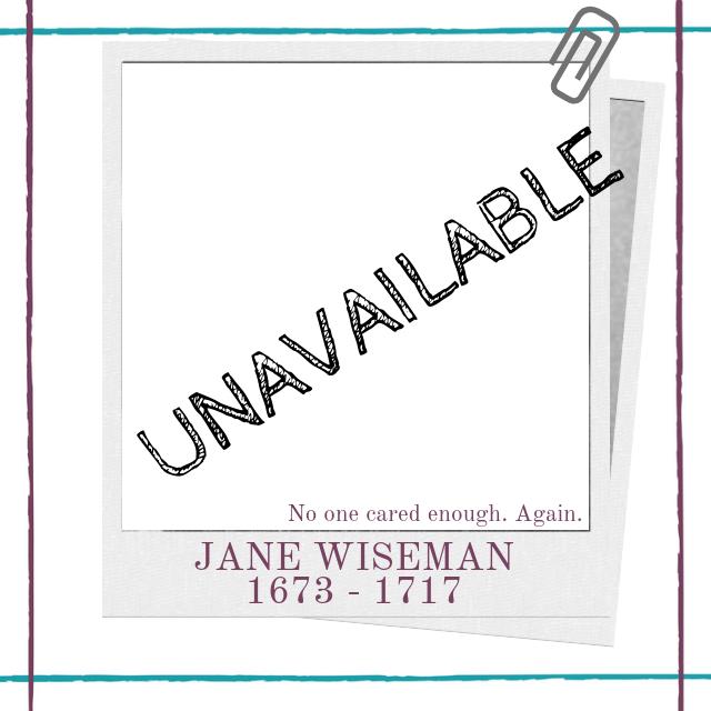 Biography of eighteenth century English female playwright Jane Wiseman by Hedda House.