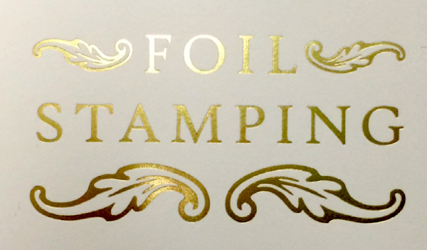 why foil stamping hederman