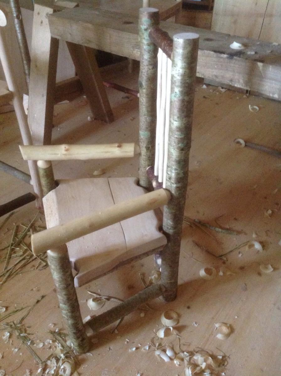 Hazel Child's Greenwood Chair