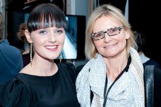 Designerin Eva Poleschinski und Hedi Grager (Foto Eva Maria Guggenberger)