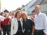 Veronique Vial, Beatrix Drenning und Christian Jungwirth (Foto Reinhard Sudy)