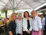 Beatrix Drenning, Tina Veith, Veronique Vial und Hedi Grager (Foto Reinhard Sudy)