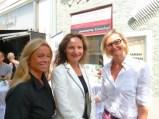 Beatrix Drenning, Veronique Vial und Hedi Grager (Foto Reinhard Sudy)