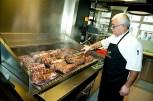 Steak-Experte Daniel aus Argentinien (Foto Werner Krug)