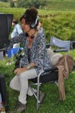 Konzentrierte Regisseurin Franziska Buch (Foto Reinhard Sudy)
