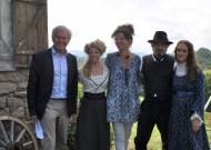 Dieter Pochlatko, Karin Lischka, Franziska Buch, Fritz Karl und Friederike Becht (Foto Reinhard Sudy)