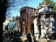 Der Cimitero Monumentale von Mailand ist ein 1866 eröffneter Zentralfriedhof mit zahlreichen künstlerisch interessanten oder sonst berühmten Gräbern (Foto Hedi Grager)