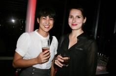 Ruth Nezmahen und Tattoo-Jungstar Carola Deutsch von decasa (Foto Christina Dow)