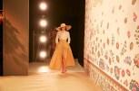 Designerin Lena Hoschek - Mercedes Benz Fashion Week Berlin 2015 (Foto Nicolas Beutler)
