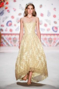 Designerin Lena Hoschek - Mercedes Benz Fashion Week Berlin 2015 (Foto Getty Images)