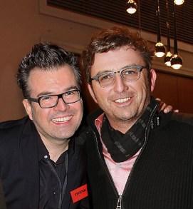 Marc O'Polo Event: Reinhard Mätzler mit Hans Sigl.