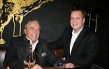 Hermann Pascha, Chef des Pascha Clubs, mit Robert Grossauer (Foto Christina Dow)