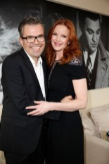 Reinhard Mätzler mit Marcia Cross beim Late Night Shopping at Designer Outlet Landquart in Landquart (Foto Agency People Image (c) Jessica Kassner)