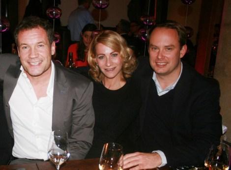 ... Armin Assinger, Sandra Schranz und Philipp Berkessy nicht entgehen (Fotos Christina Dow)