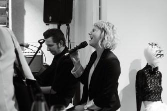 """The Lady & a Tramp"" sorgten für den Musikgenuß (Foto Eva Maria Guggenberger)"