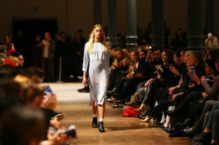 Marcel Ostertag Show Mercedes-Benz Fashion Week Berlin (Photo by Clemens Bilan/Getty Images)