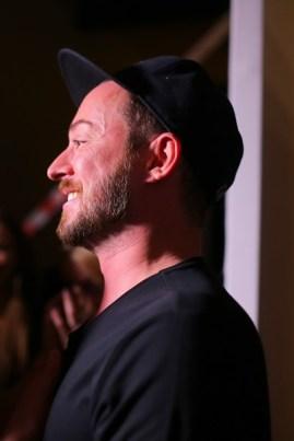 Designer Marcel Ostertag backstage vor seiner Show (Photo by Thomas Niedermueller/Getty Images)