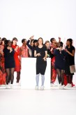 Designerin Anne Gorke: Mercedes-Benz Fashion Week Berlin (Photo by Peter Michael Dills/Getty Images)