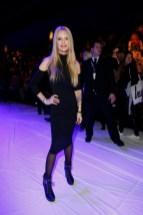 Mirja Du Mont: Sportalm Fashion Show auf der Mercedes - Benz Fashionweek Berlin (Agency People Image (c) Jessica Kassner)
