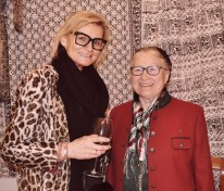 Hedi Grager mit Johanna Polz sen. (Foto Reinhard Sudy)