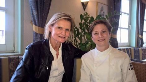 Journalistin Hedi Grager und Haubenköchin Astrid Krainer (Foto Reinhard Sudy)