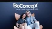 Sabrina Stückler mit Architekt Wolfgang Pichler (Foto Bojan Jovanovich)