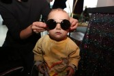 Young Fan of ANDY WOLF Eyewear (Foto Veronique Giroud)