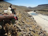 Aniko zu Besuch in 'ihrer' Wüste (Foto Joe Haider