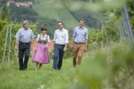 Karl, Elisabeth, Stefan und Bernhard Schauer (Foto Karin Bergmann)