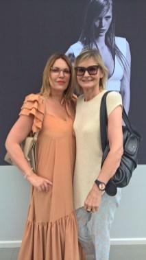ANDY WOLF EYEWEAR Designerin Katharina Plattner und Journalistin Hedi Grager