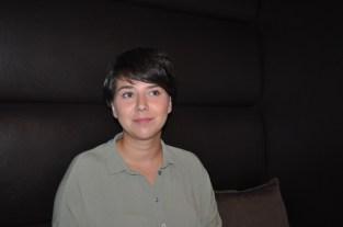 Schauspielerin Brigitta Kanyaro (Foto Reinhard Sudy)